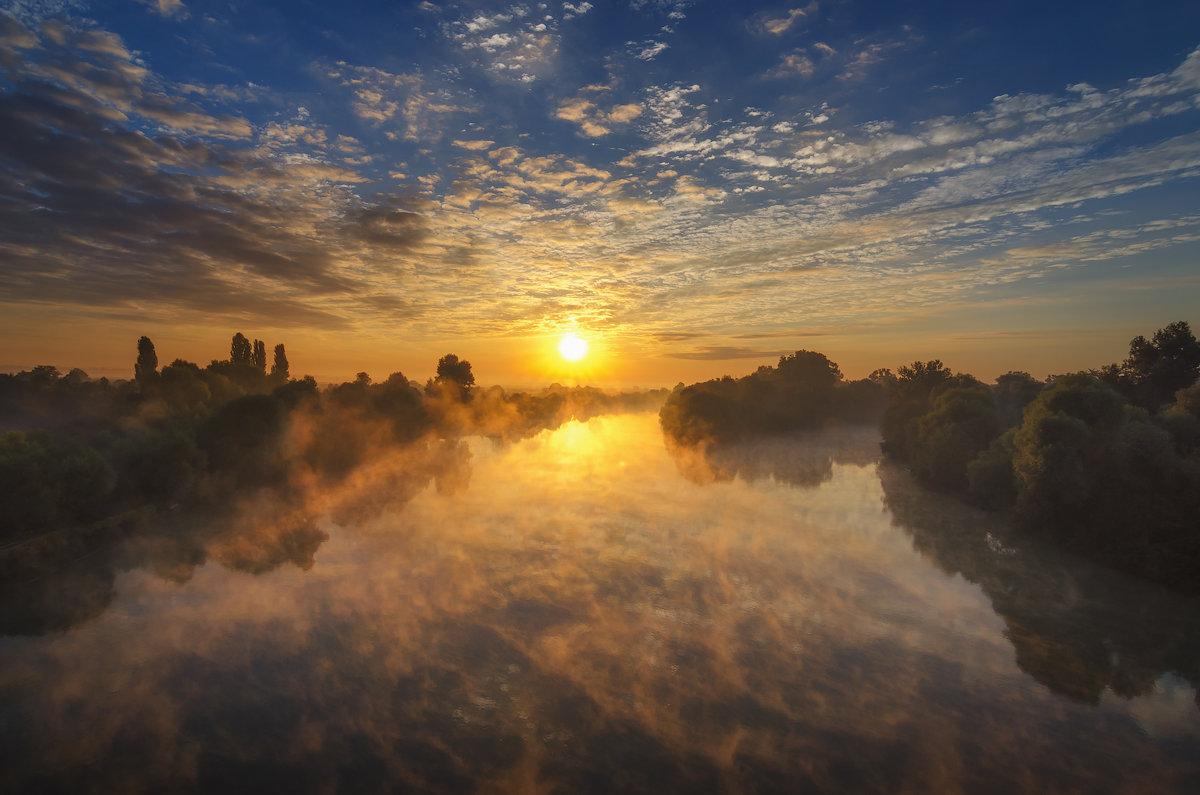 Рассвет на реке Протока - Игорь Зубков