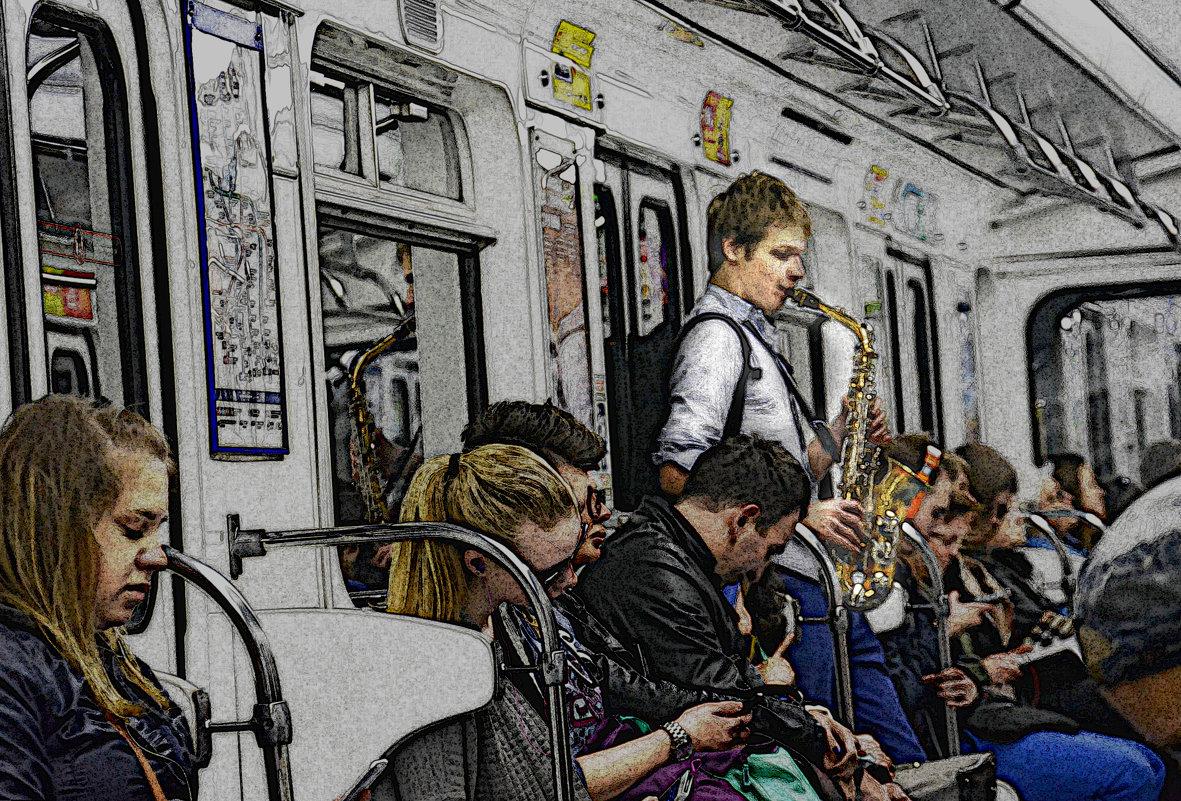музыка в метро - Наталия П