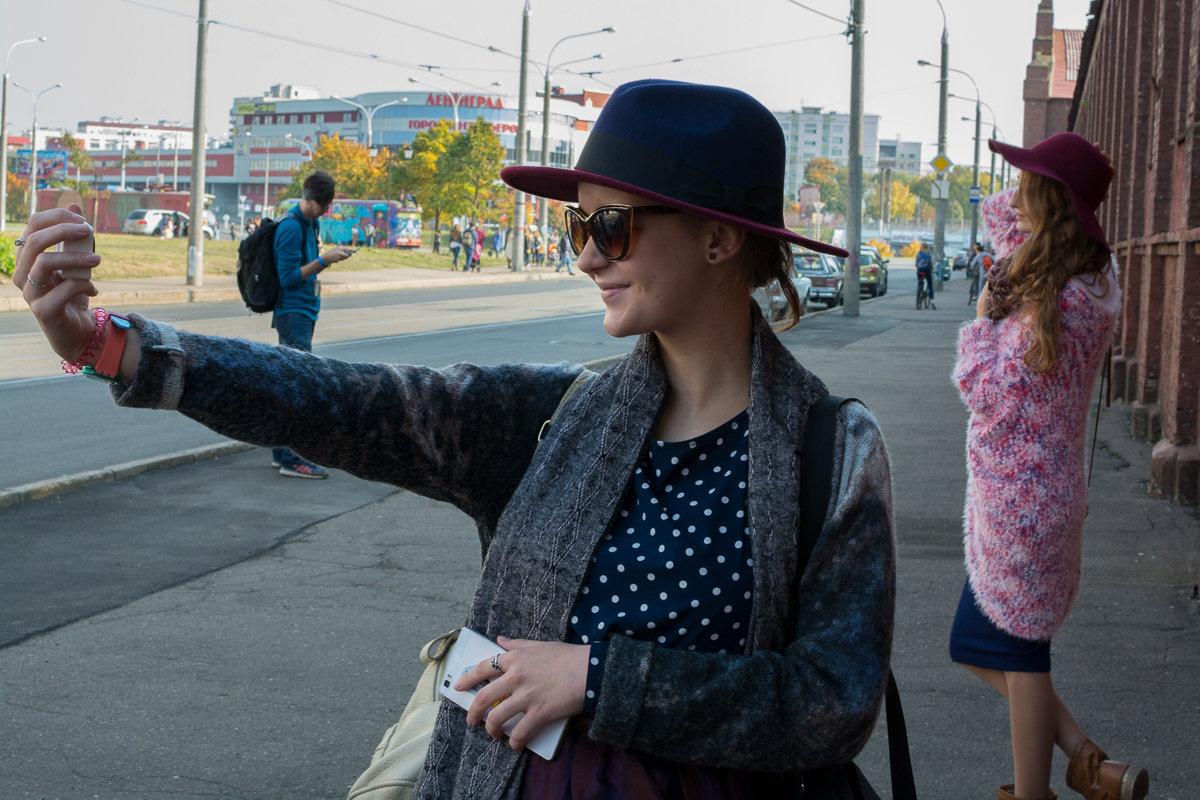 Фотосессия девушек на улице в Минске - Дмитрий Шишкин