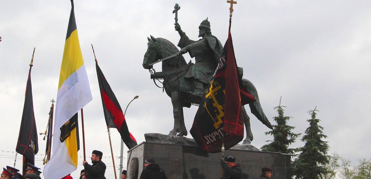 Открытие памятника. - Борис Митрохин