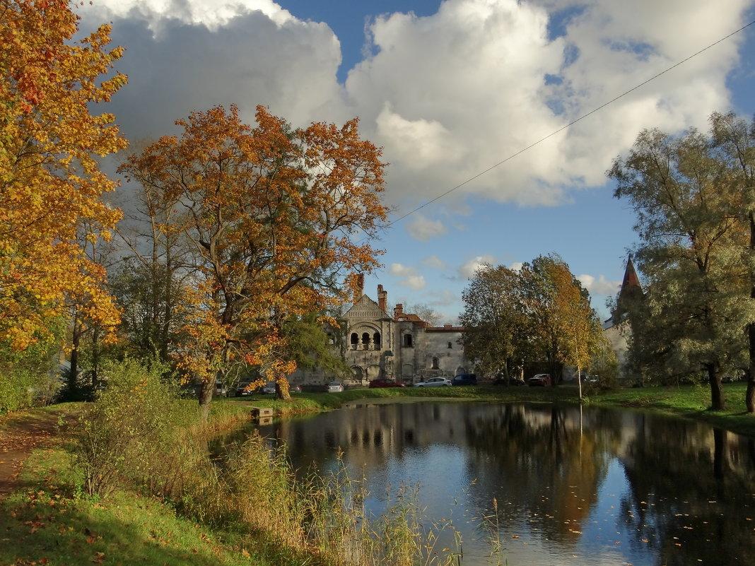 Осень в Пушкине - виктория Скрыльникова