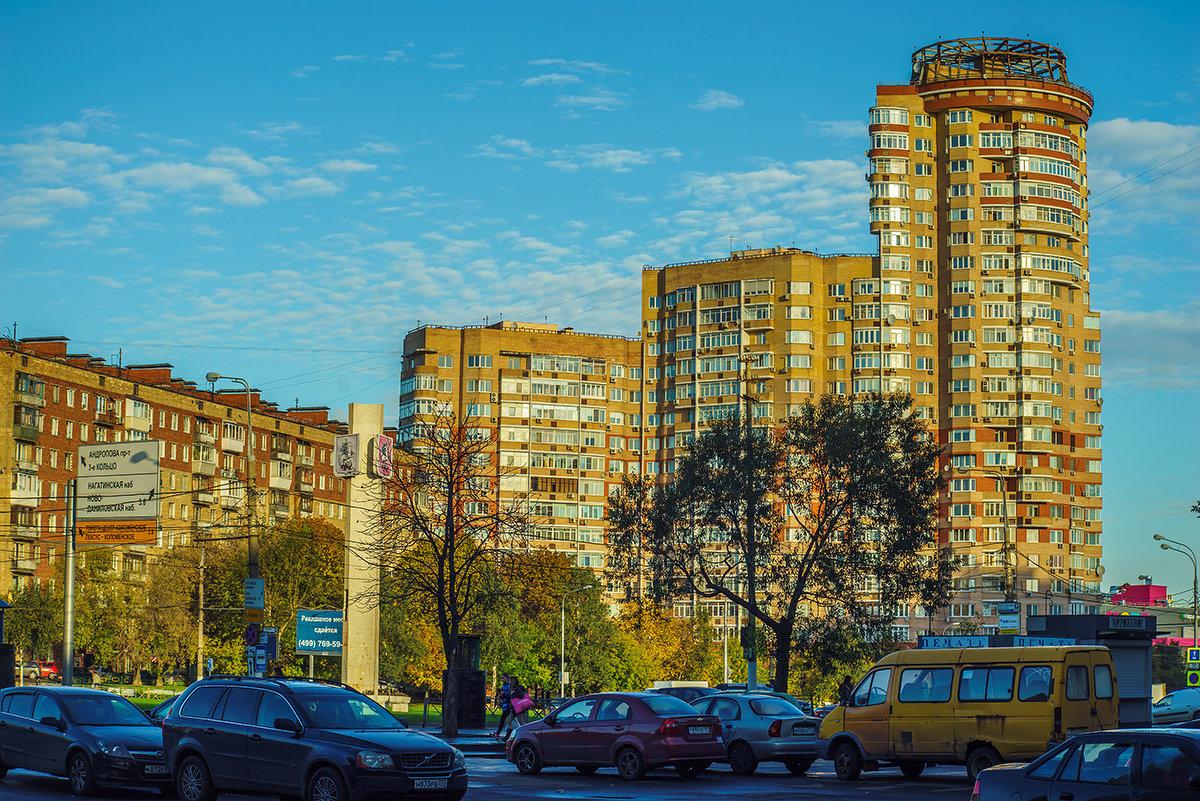 Московский пейзаж - Игорь Герман