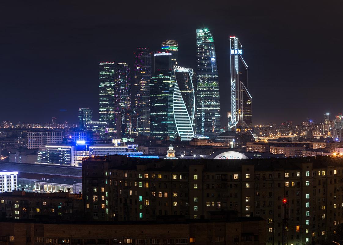 Москва-Сити с крыши небоскреба - Наталия Киреева