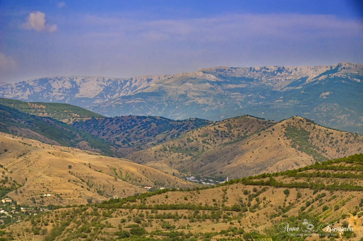 Крымские горы - Анна Кокарева