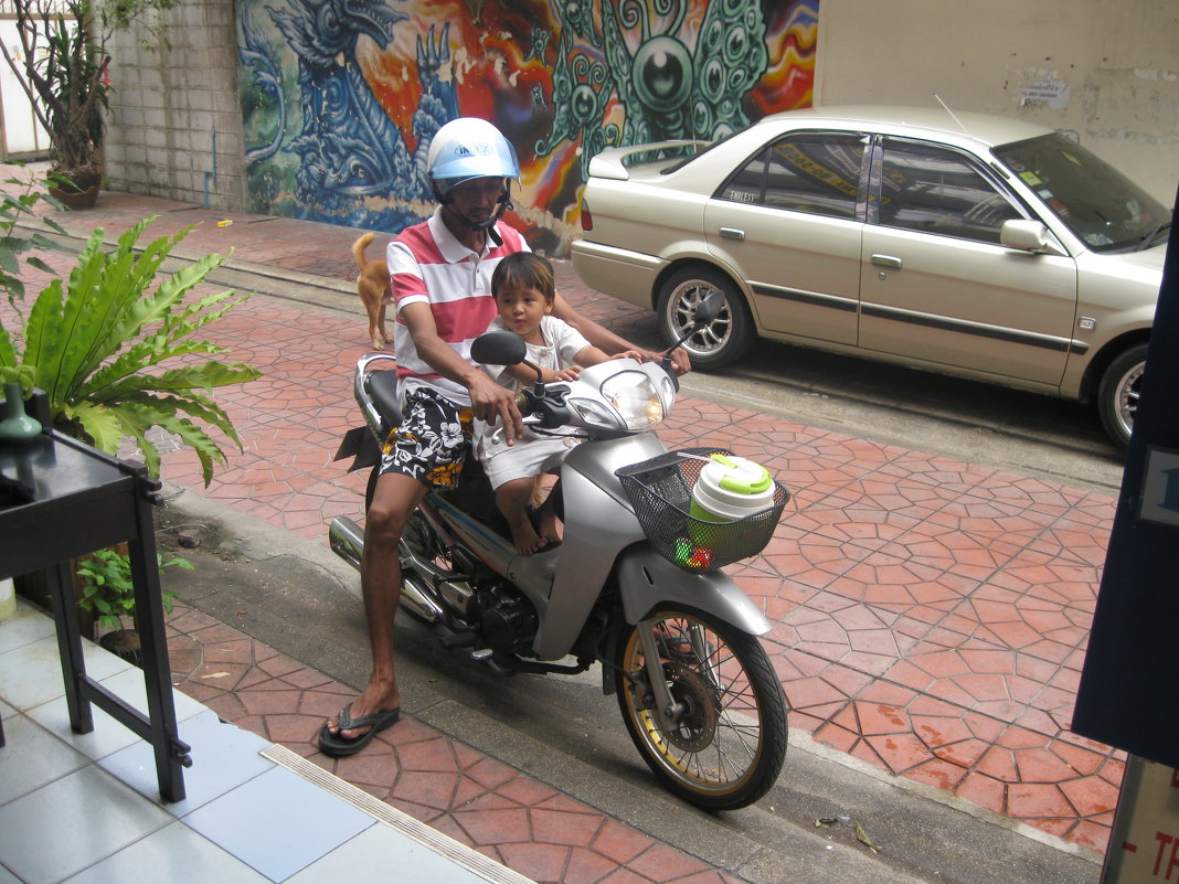 Таиланд. Жители Бангкока. - Лариса (Phinikia) Двойникова
