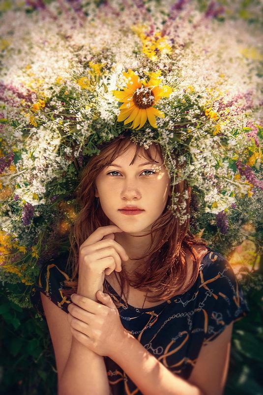 Девочка - лето - Ирина Демидова