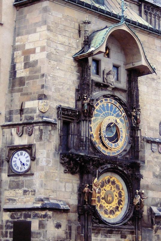 Прага. Астрономические часы на Староместской площади - Ирина Арефьева