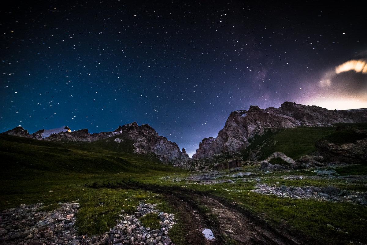 Закат Луны на Кок-Кыя - Александр (Gars) Притеев