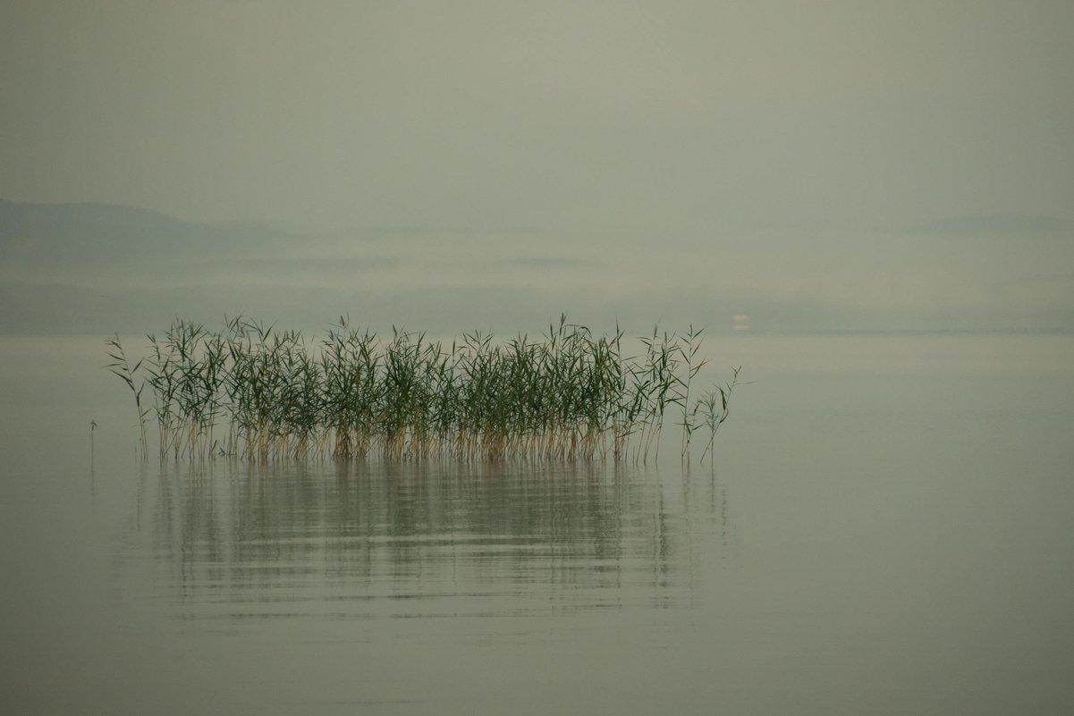 Утро на озере Иткуль. - михаил суворов
