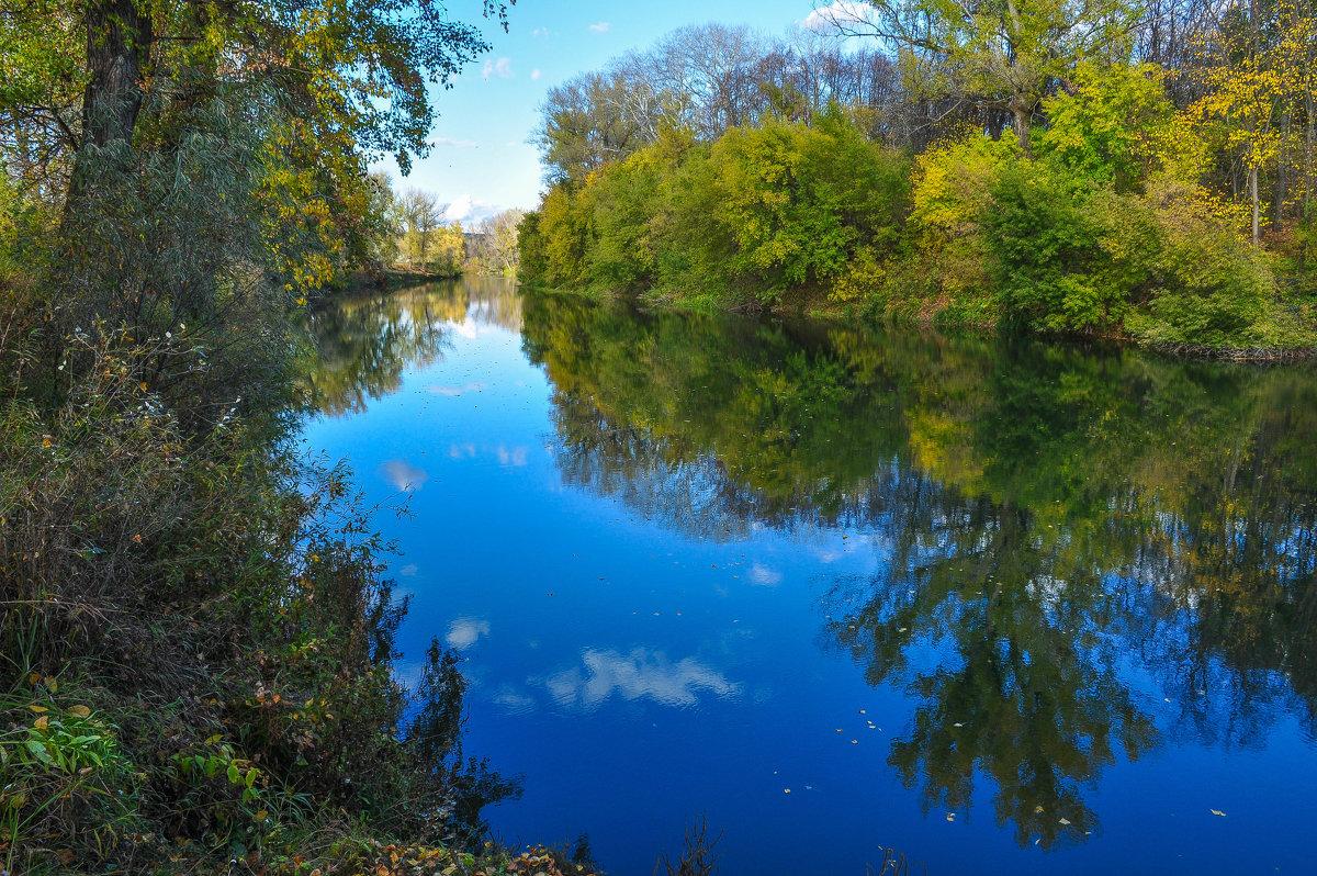 Отражение неба в реке Деме - Сергей Тагиров