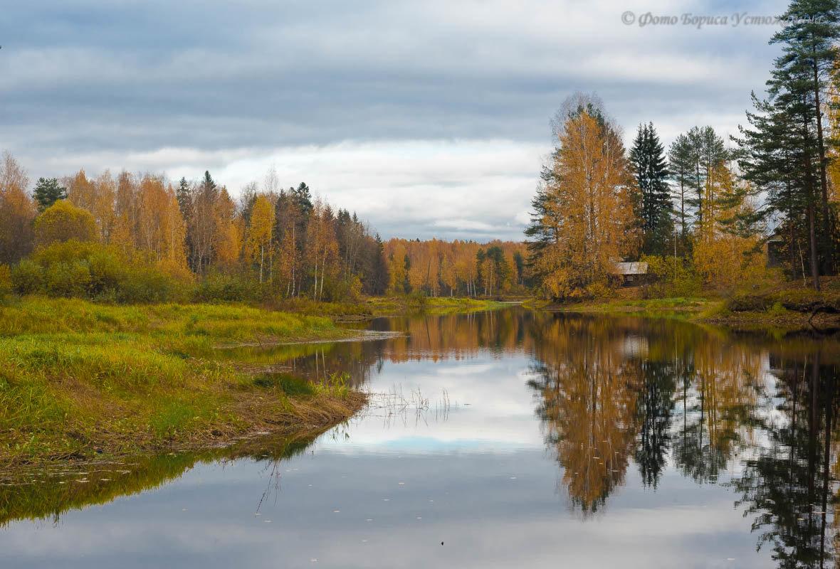 Осень) - Борис Устюжанин