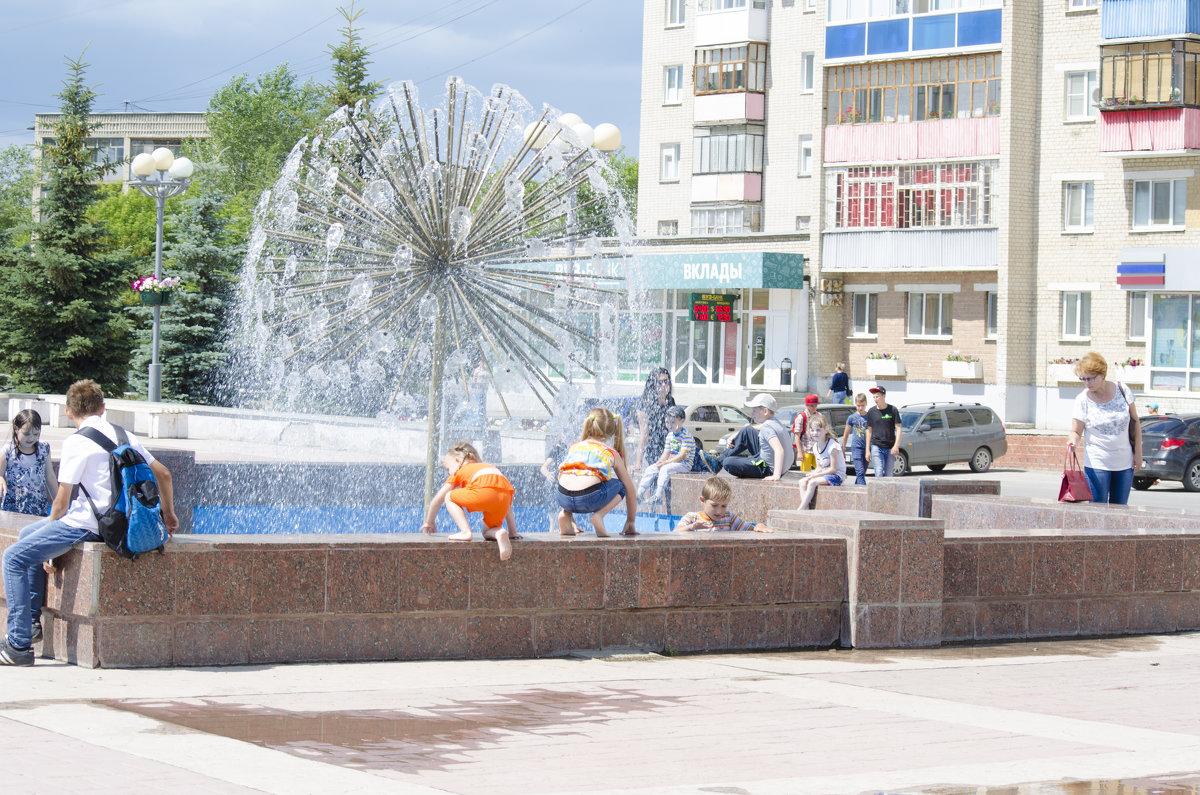 у фонтана - Ольга Русакова