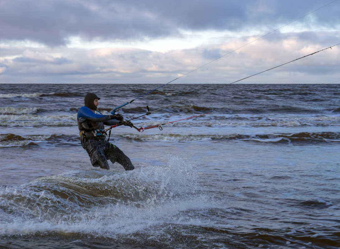 Северодвинск. Белое море. Сегодня штормит (1) - Владимир Шибинский