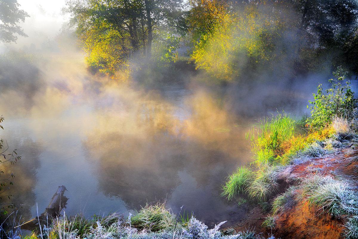 Туманные рассветы октября...2.. - Андрей Войцехов