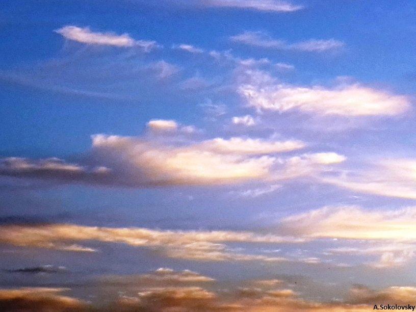 небеса....мои  обетованные..... - Anna Sokolovsky