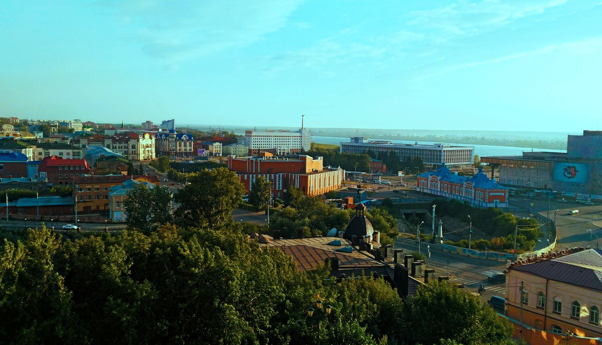 Малая панорама Томска - Bort037