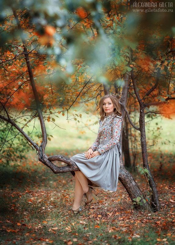 Яркие краски осени - Александра Гилета