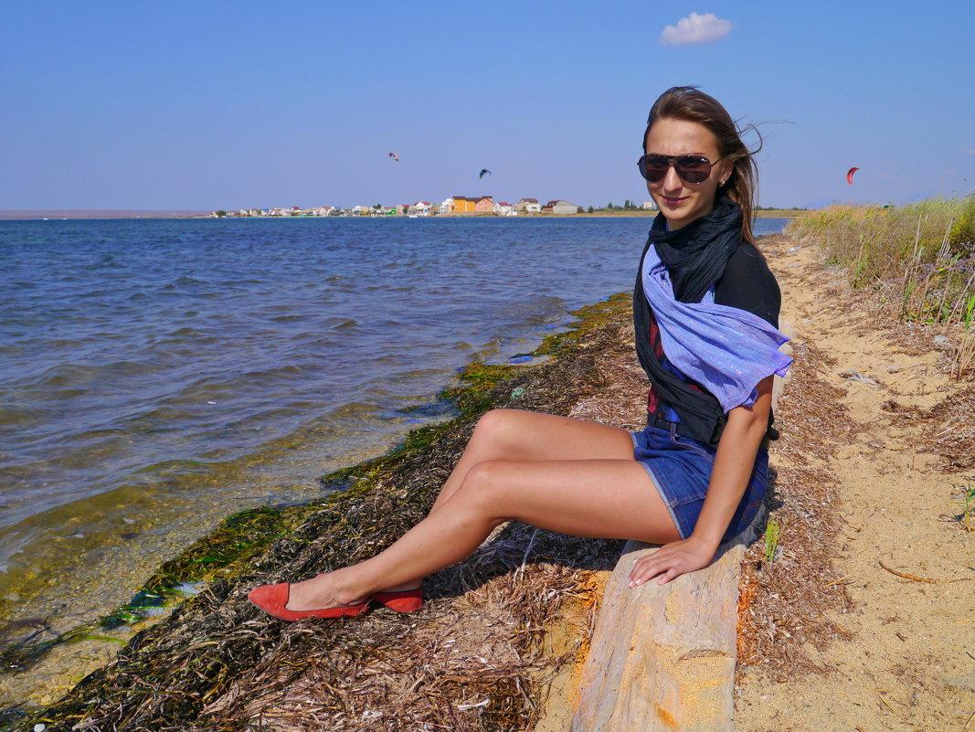 на берегу залива - Андрей Козлов