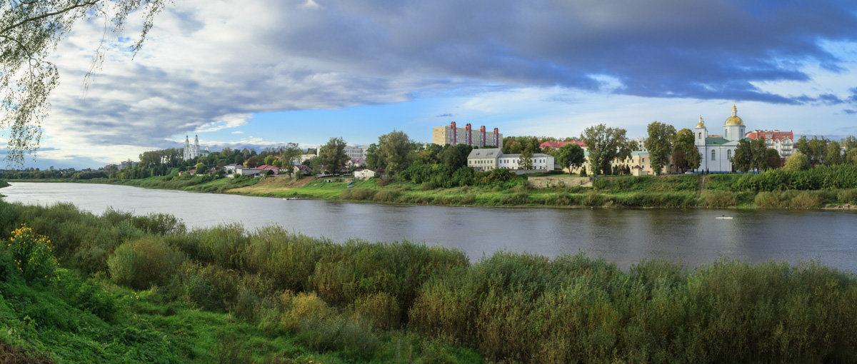 Панорама Полоцка - Николай Авсеев