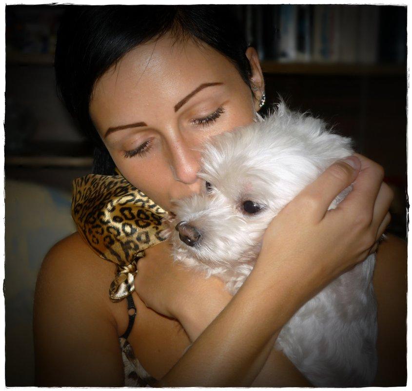 Наша собачка Лаки останется в наших сердцах навсегда... - Dana Spissiak