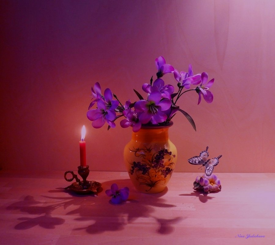 Пока горит свеча... - Nina Yudicheva