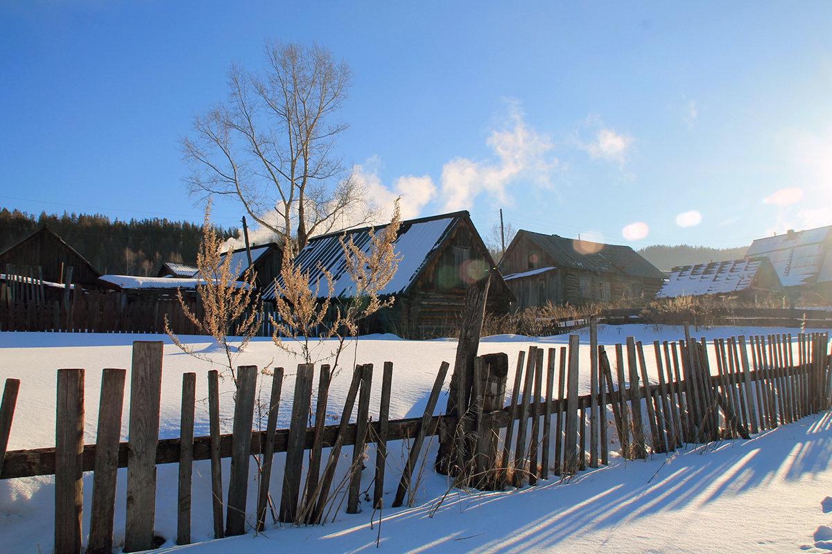 Сибирское село - Екатерина Торганская