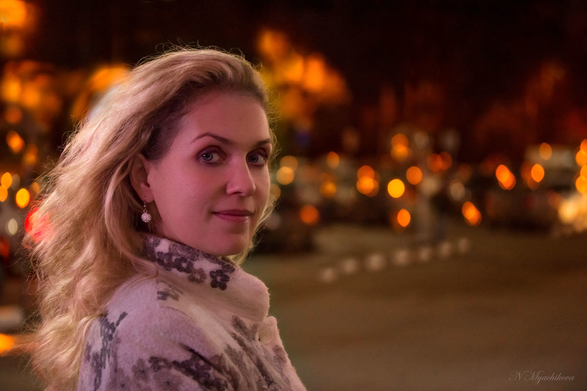 В ночи - Наталья Мячикова
