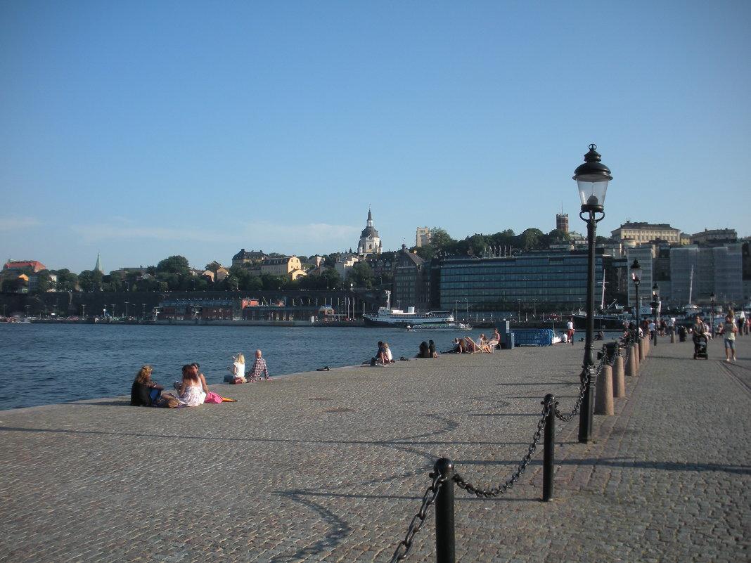 Городская набережная Стокгольма - Виталий Селиванов