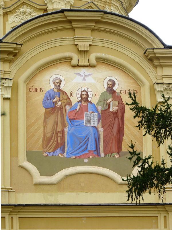 Роспись на алтарной части собора Петра и Павла в Петропавловской крепости - Galina Leskova