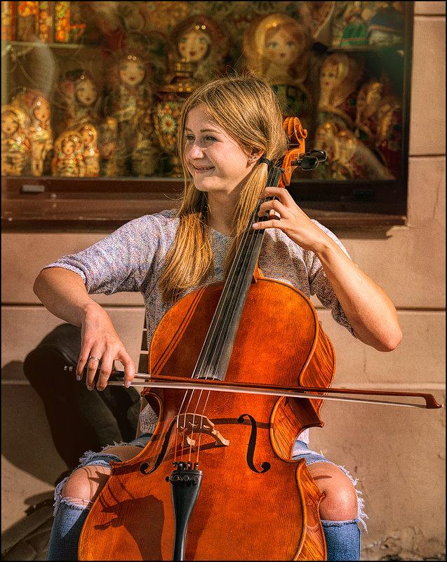Веселая виолончель - Цветков Виктор Васильевич