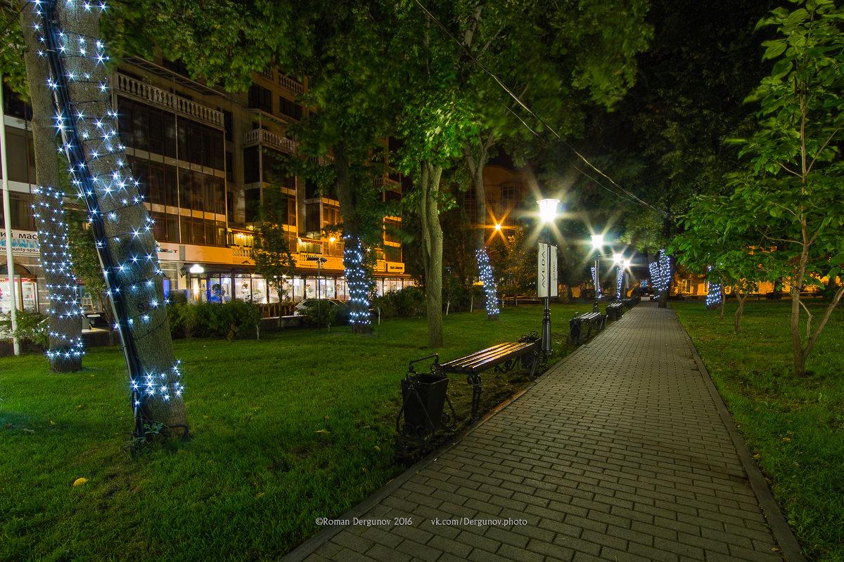 Петровский сквер ночью - Roman Dergunov