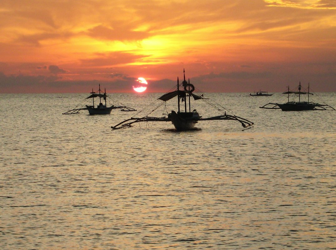 Закат на Филиппинах - alex