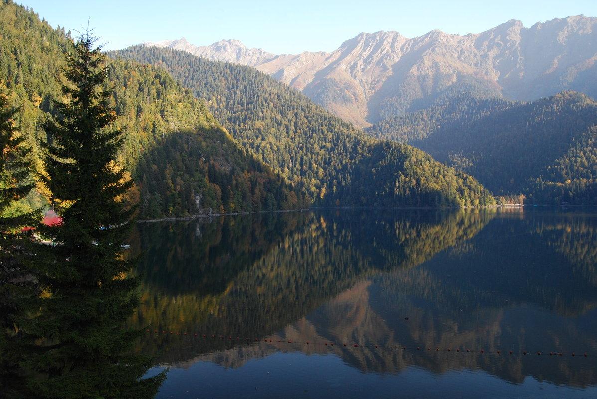 Озеро Рица - Нелли *