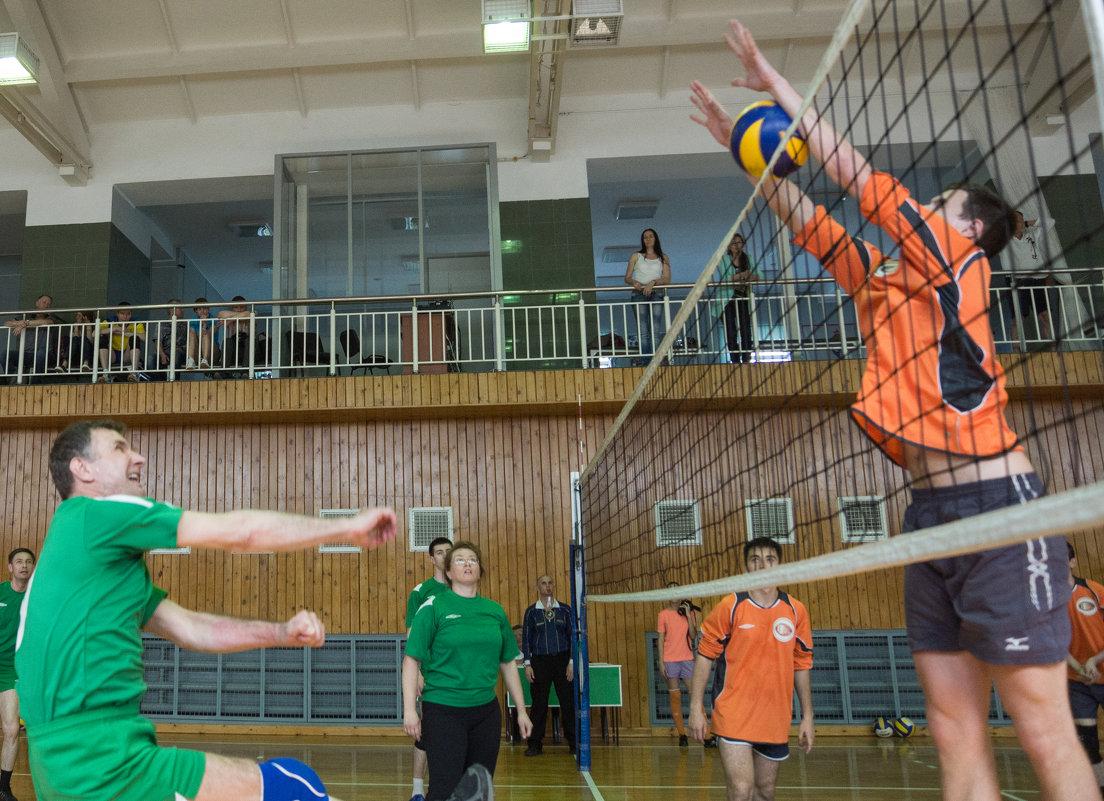 Соревнования по волейболу 2 - Людмила Мозер