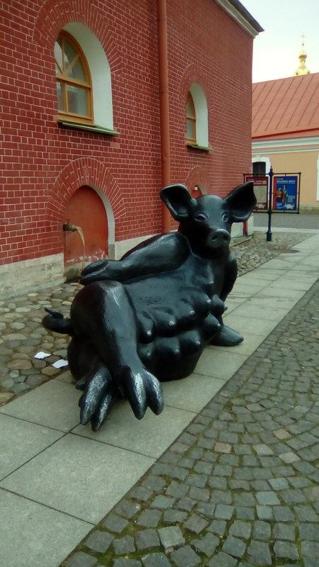 Скульптура малых форм из Таллина. (Петропавловская крепость, С- Петербург). - Светлана Калмыкова