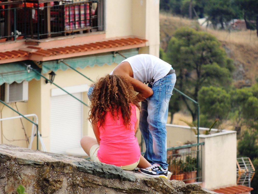 Поцелуй на высоте - Елена Ом