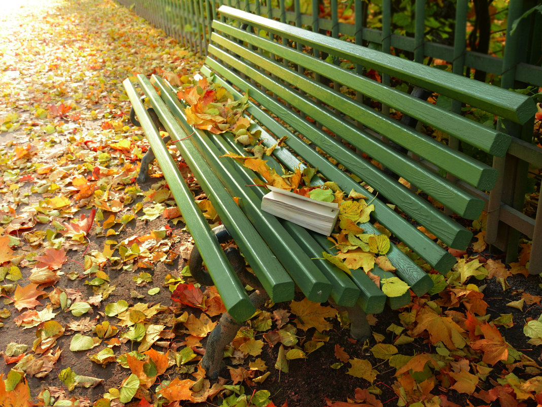 Скоро попрощаемся с осенью - Наталия П