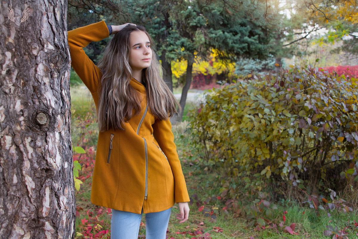 ..В старом парке царствовала осень, Красила деревья и кусты. - Райская птица Бородина