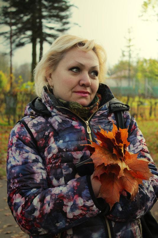 Осень в Пушкине - Людмила Волдыкова