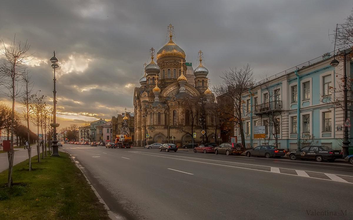Вечер на Васильевском (Успенская церковь) - Valentina - M