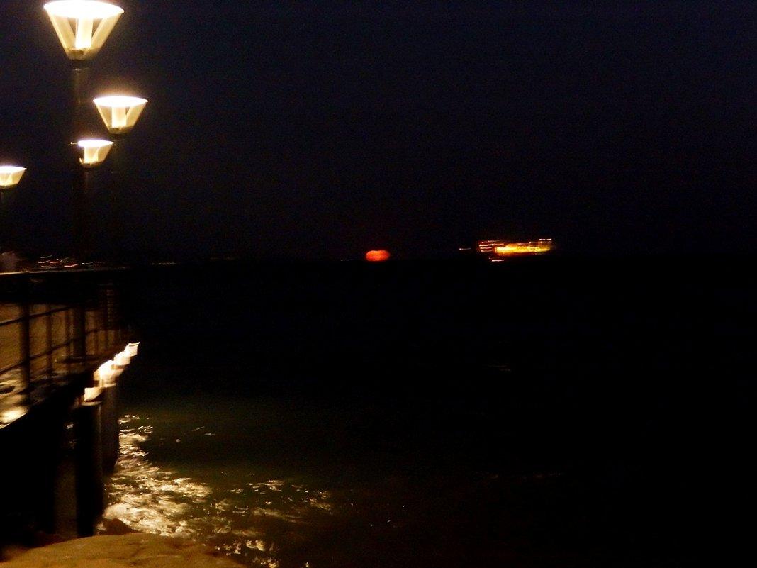 Начало восхода луны - Natali