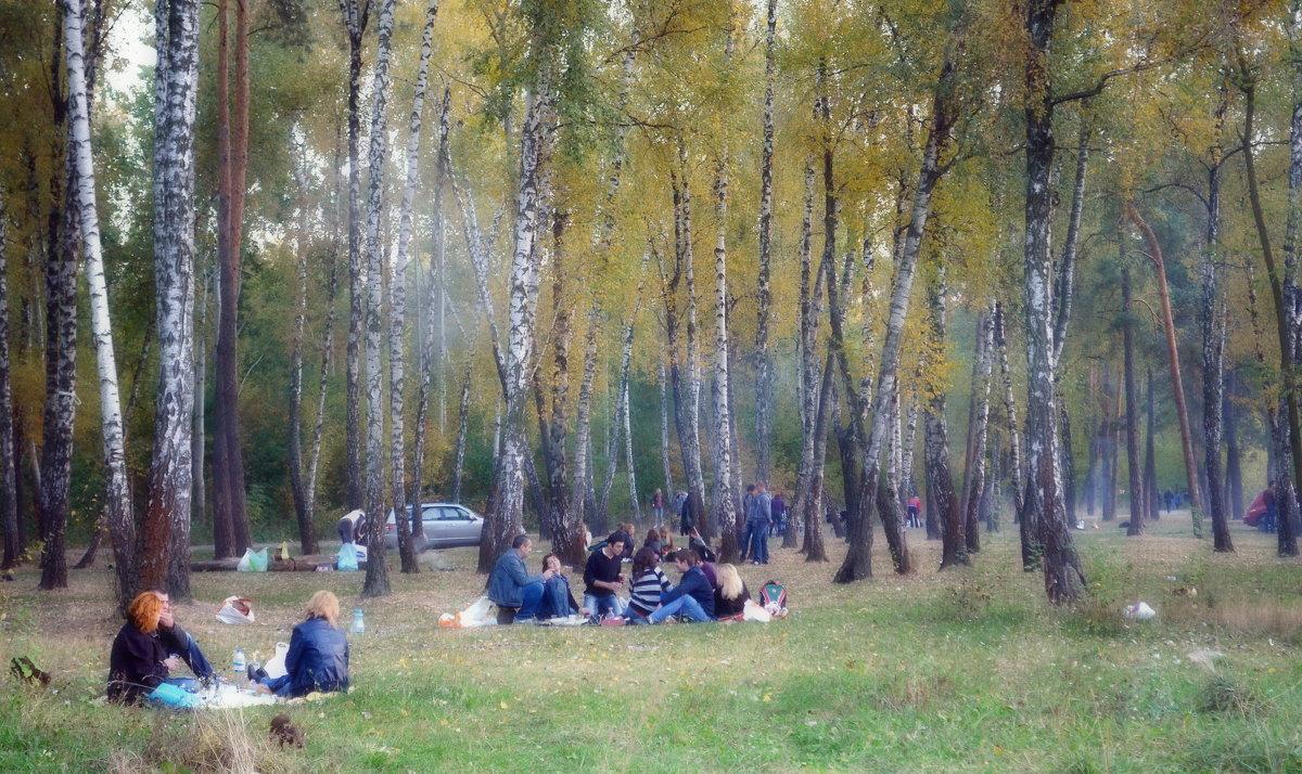 Последние тёплые денёчки - Валентина Данилова