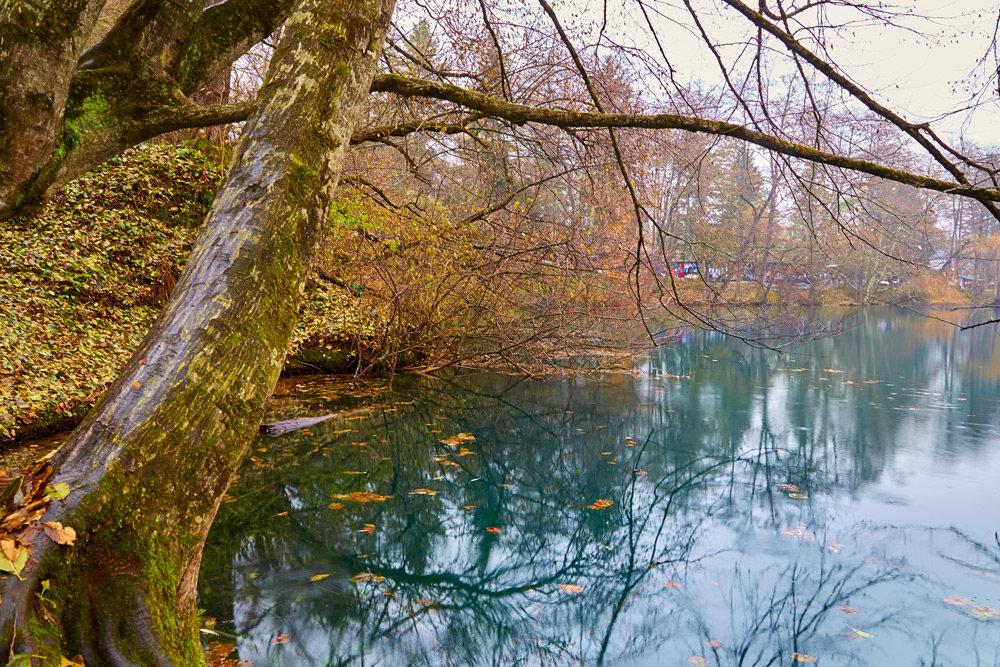 Осень на голубом озере. КБР. - Николай Николенко