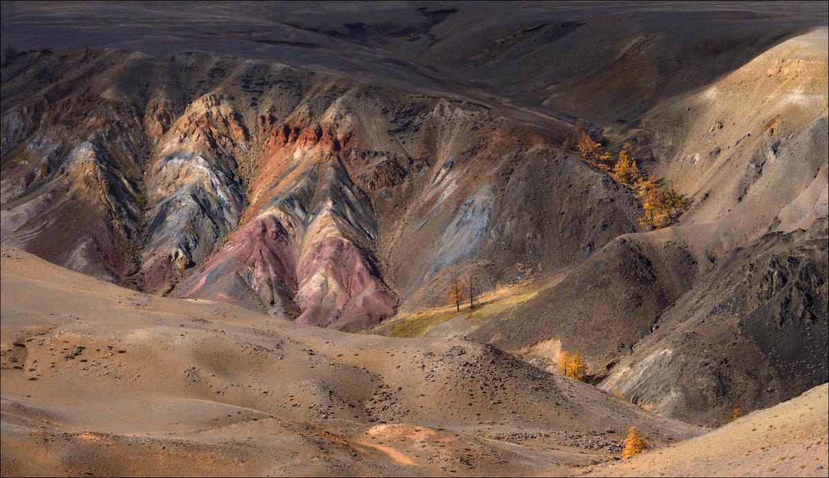 Цветные скалы ущелья Кызыл-Чин - Влад Соколовский