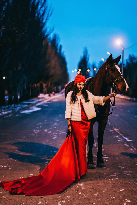 Вечерняя прогулка - Юлия Любченко