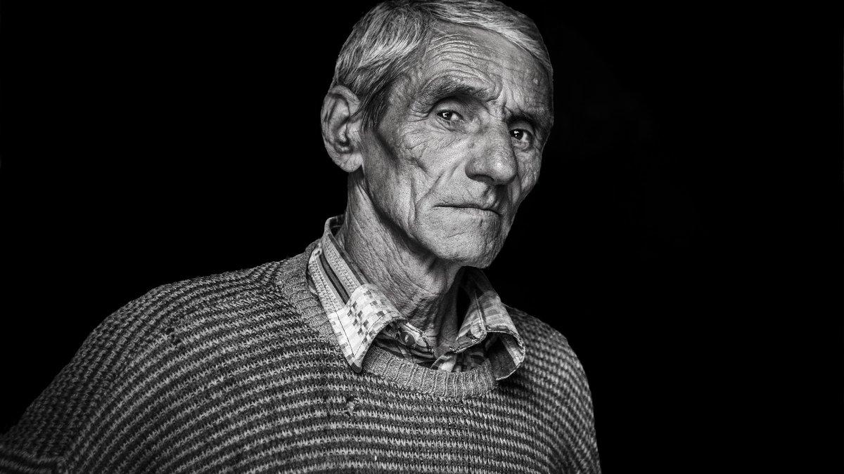 Portrait grandfather - ljiljasr