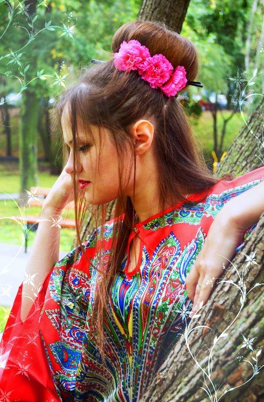 Японский стиль - Julia Volkova
