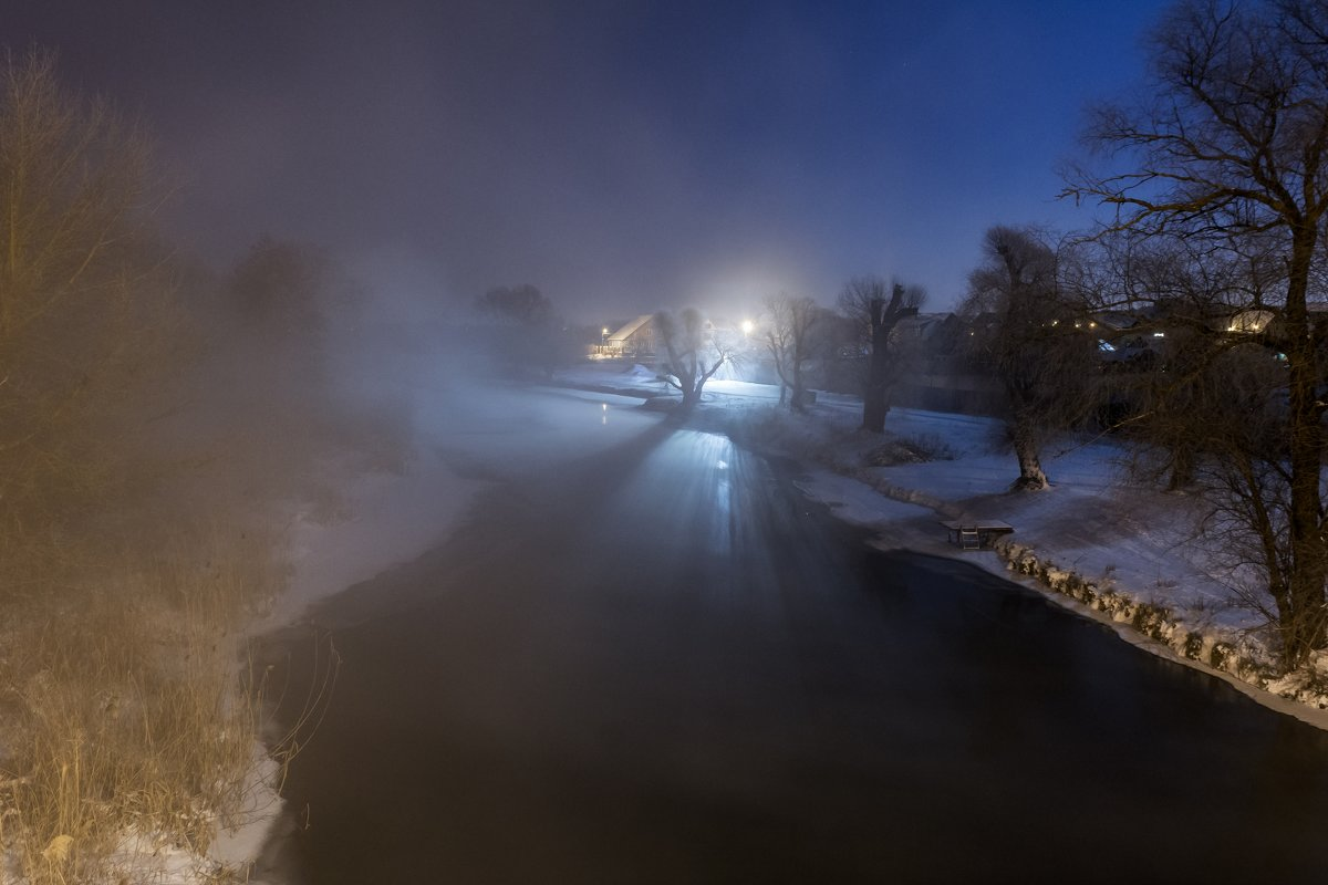Ночной туман. - ALEXANDR L