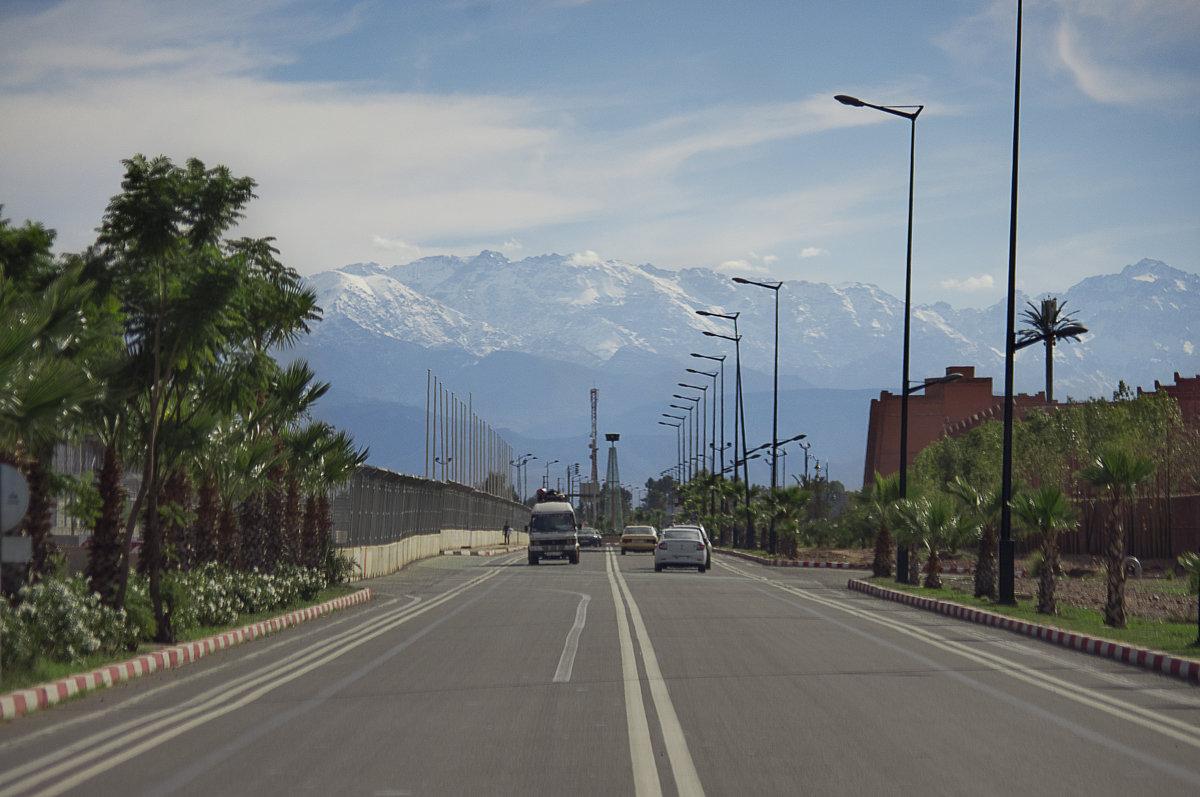 Дорога в горы - Светлана marokkanka