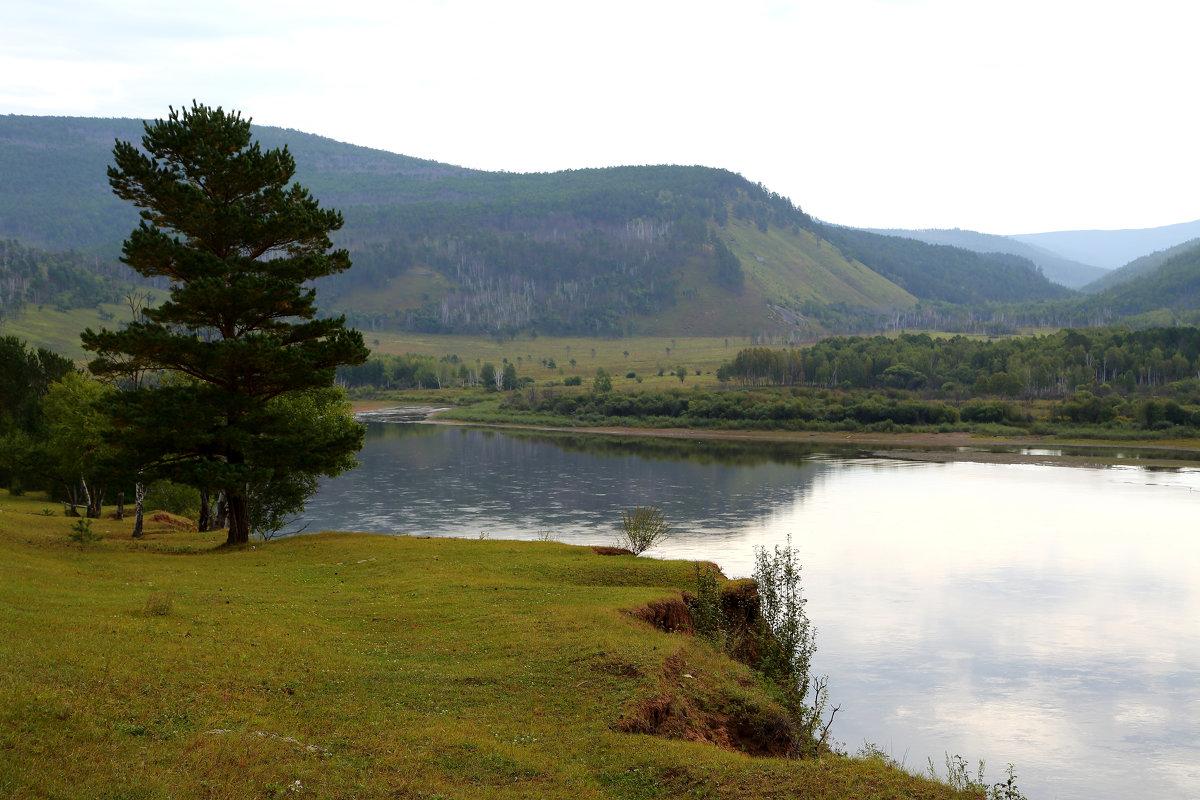 Вид на реку Шилка в окрестностях села Верхние Куларки - моей Малой Родины. - Александр Киргизов
